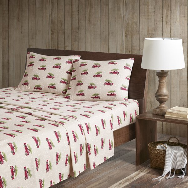 Printed 100% Cotton Sheet Set by Woolrich